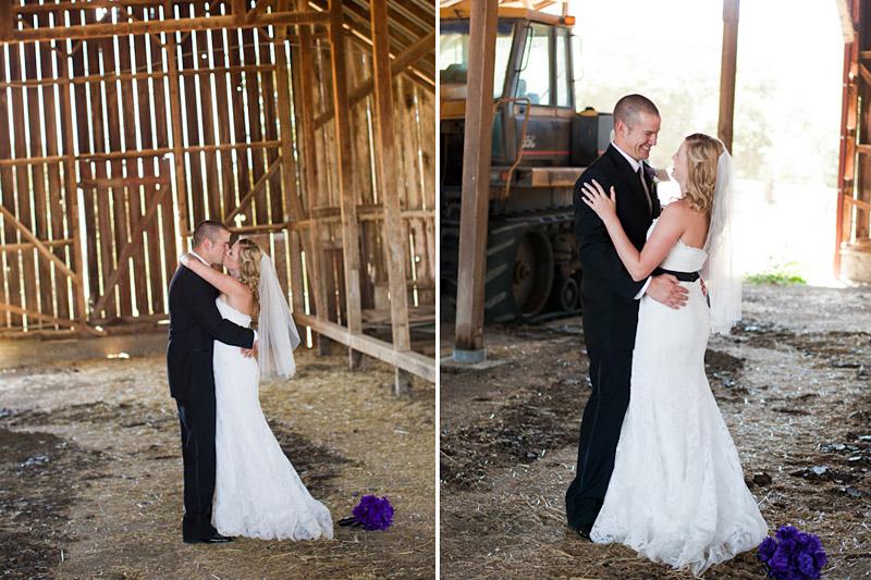 cecchettini_131san luis obispo ranch wedding, portraits of the couple in a barn (2 of 2)