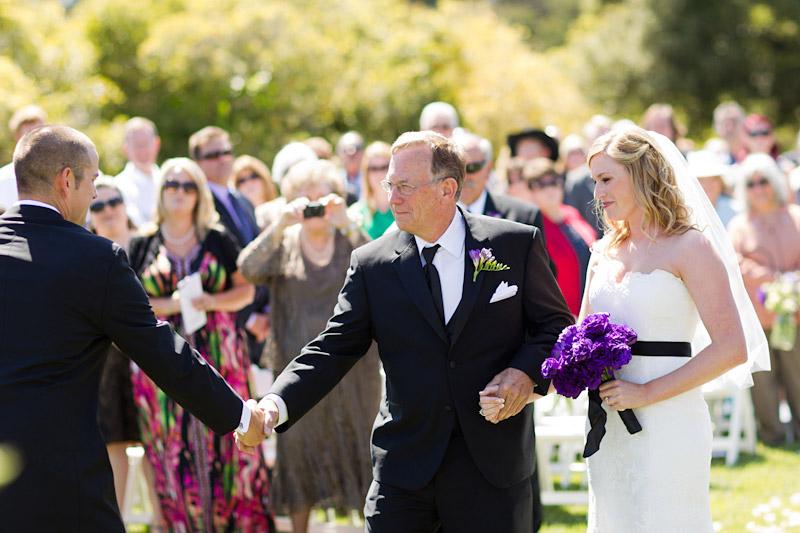 cecchettini_131san luis obispo ranch wedding, father giving his daughter away