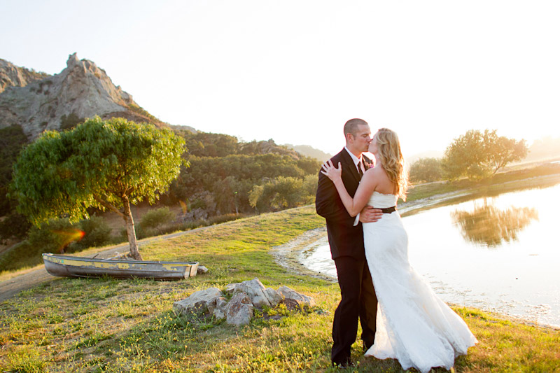 central coast ranch wedding, bride and groom at holland ranch (1 of 4)