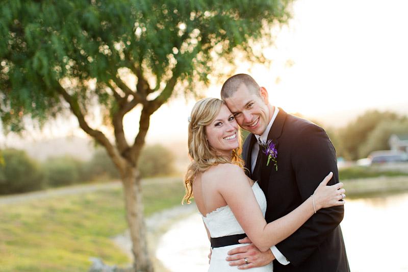 central coast ranch wedding, bride and groom at holland ranch (4 of 4)