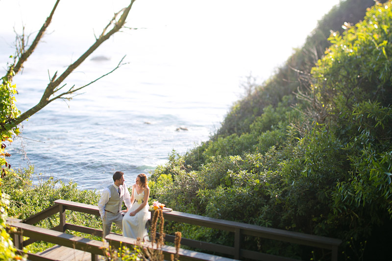 big sur wedding, portraits of bride and groom (3 of 4)