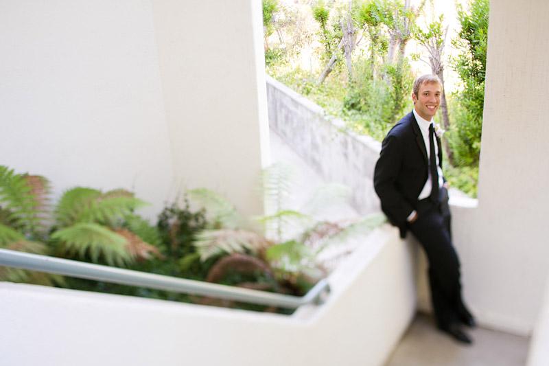 central coast wedding photography, groom's portrait