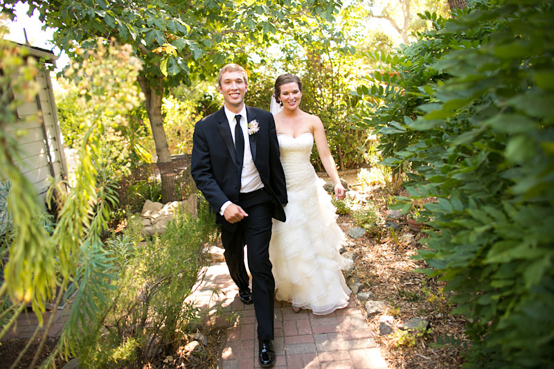 san luis obispo wedding at daledet adobe