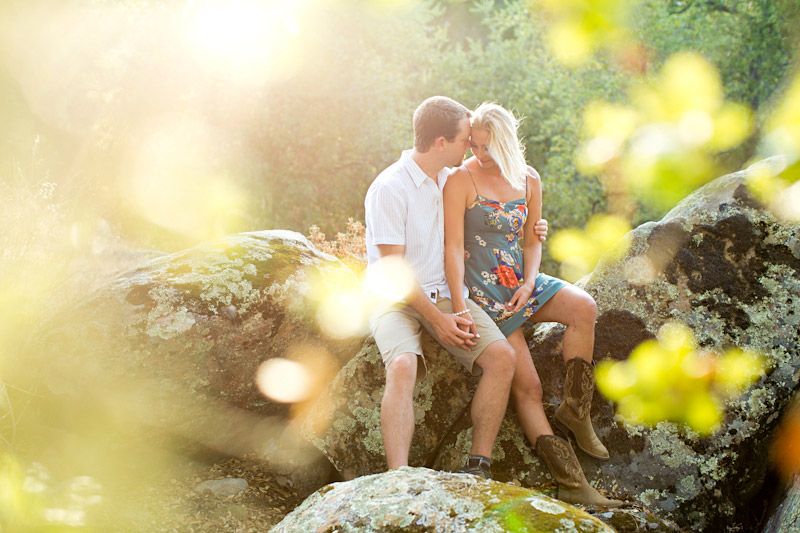central coast engagement session, couple climbing on the rocks (2 of 2)