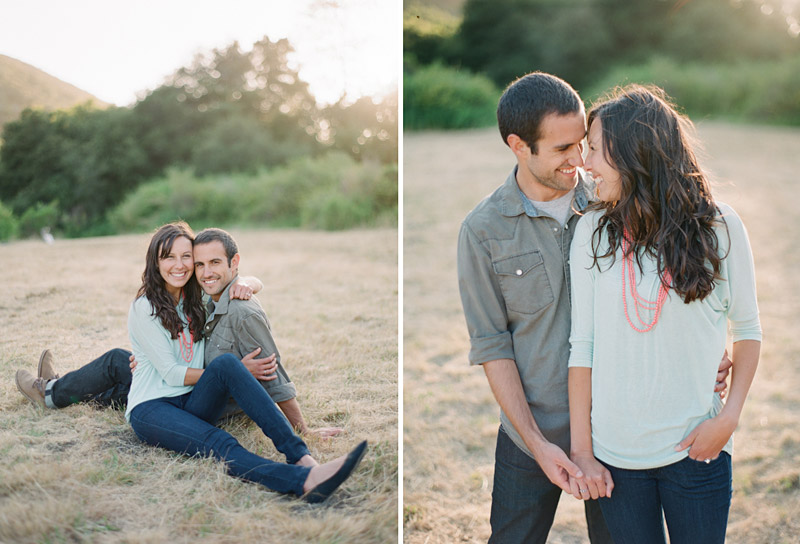 san luis obispo engagement photos in a field (5 of 5)