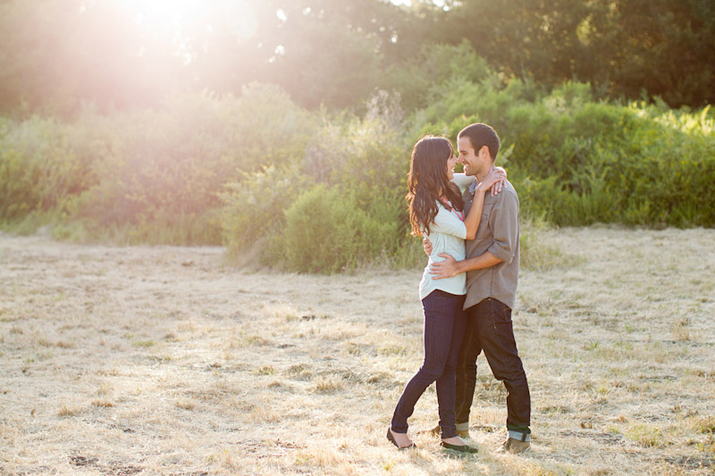 san luis obispo engagement photos in a field (2 of 5)