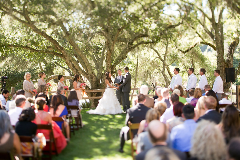 central coast wedding ceremony