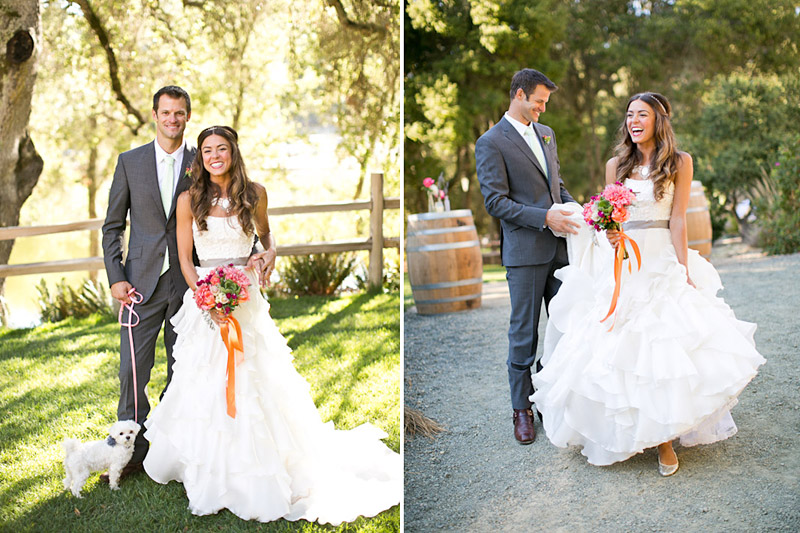 san luis obispo wedding, bride and groom
