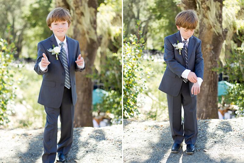 templeton wedding, ring bearer