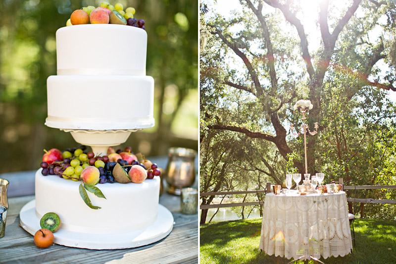 san luis obispo wedding photography at lago giuseppe, reception details