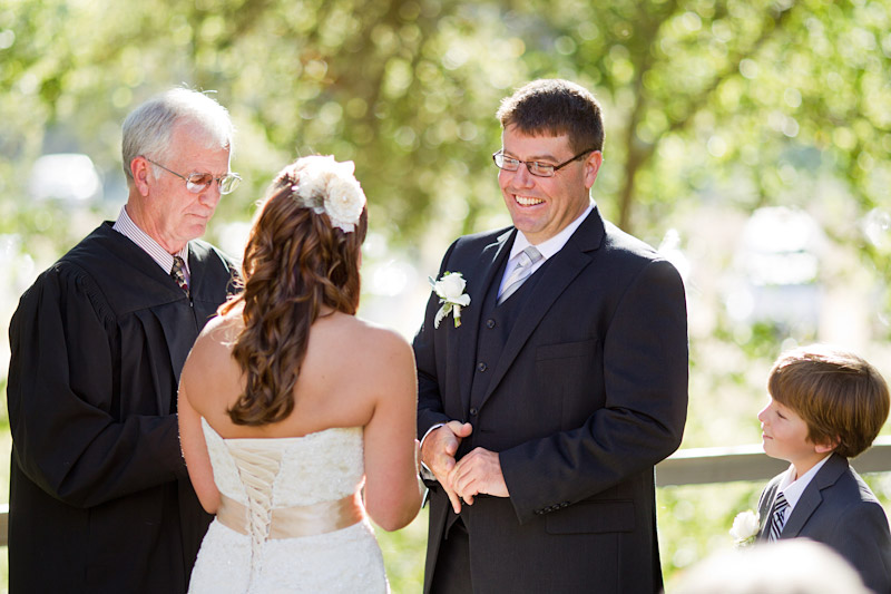 central coast wedding ceremony at lago guiseppe in templeton (3 of 4)