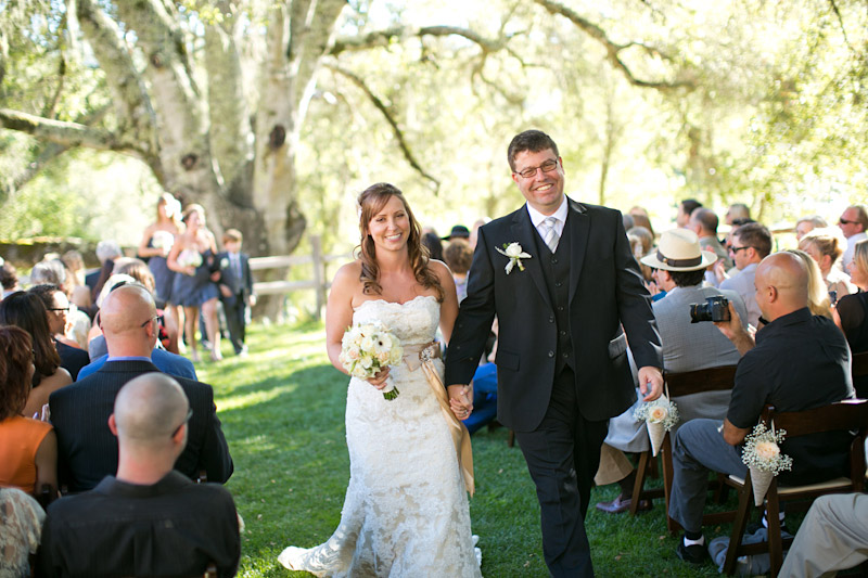 central coast wedding ceremony at lago guiseppe in templeton (4 of 4)