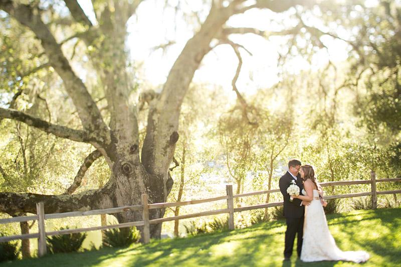Central coast wedding, bride and groom portraits