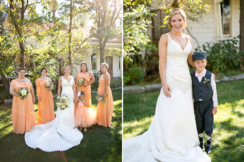 santa margarita ranch, portraits of the bridesmaids