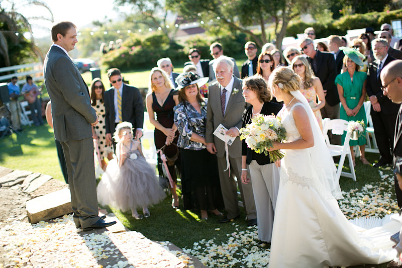 santa margarita ranch, ceremony