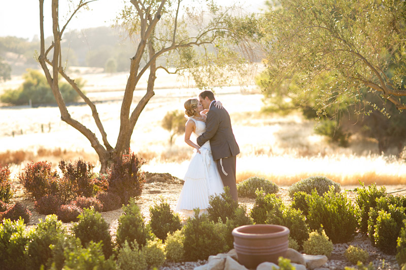 santa margarita ranch wedding portraits in a garden (1 of 3)