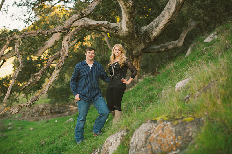 Morro Bay Engagement pictures of couple at ranch by Cameron Ingalls. (2 of 2)