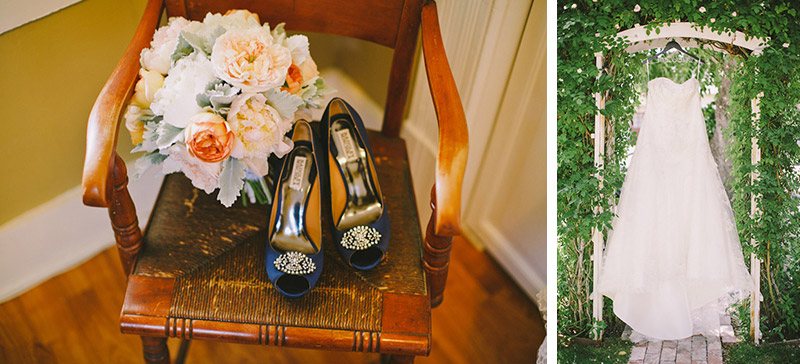 Paso Robles Ranch & Vineyard, flowers // shoes // dress