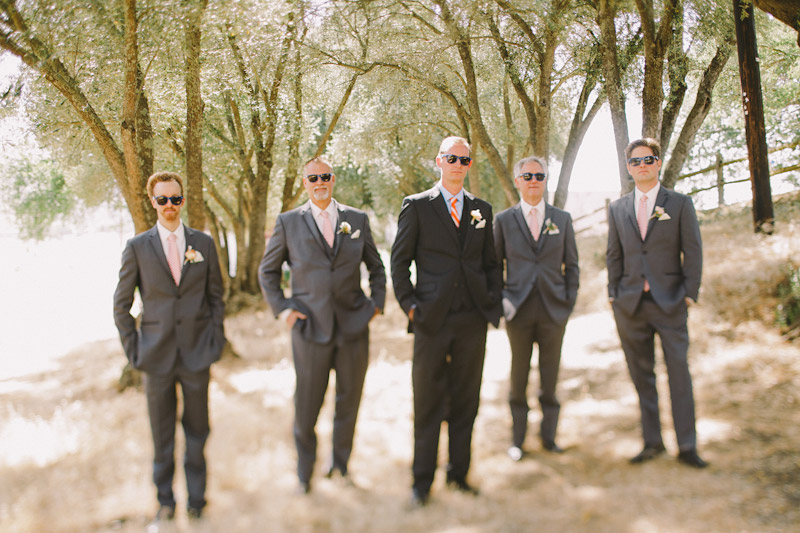 Paso Robles Ranch & Vineyard, the groomsmen