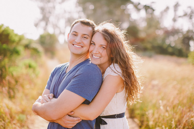 Montana De Oro, couple hugging