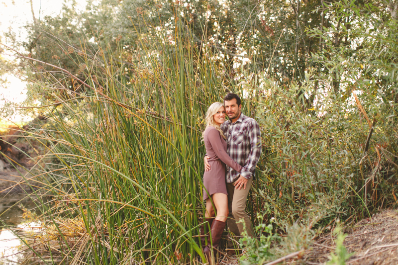 Greengate Ranch, San Luis Obispo, couple in front of pond. 2