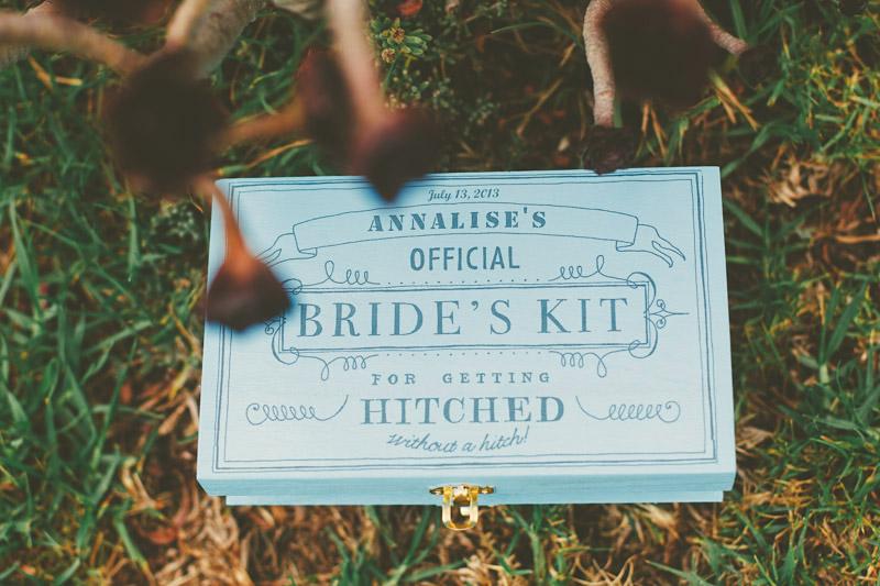Cayucos Creek Barn, bridal kit