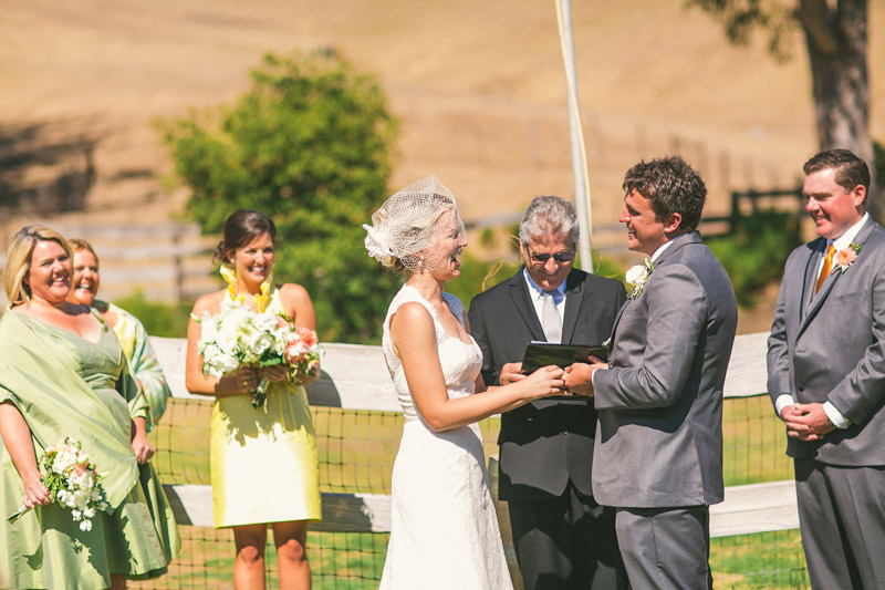 Cayucos Creek Barn, getting hitched
