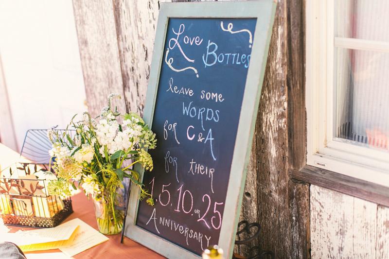 Cayucos Creek Barn, love bottles
