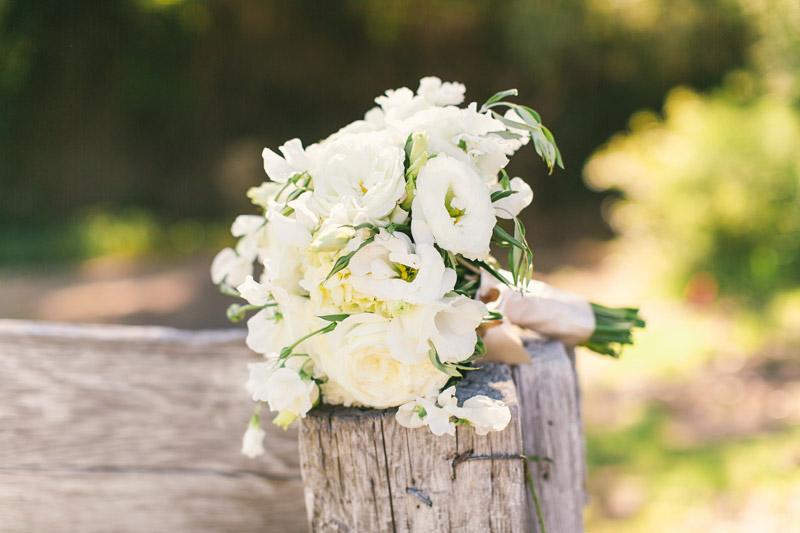 Cayucos Creek Barn, white bouquet