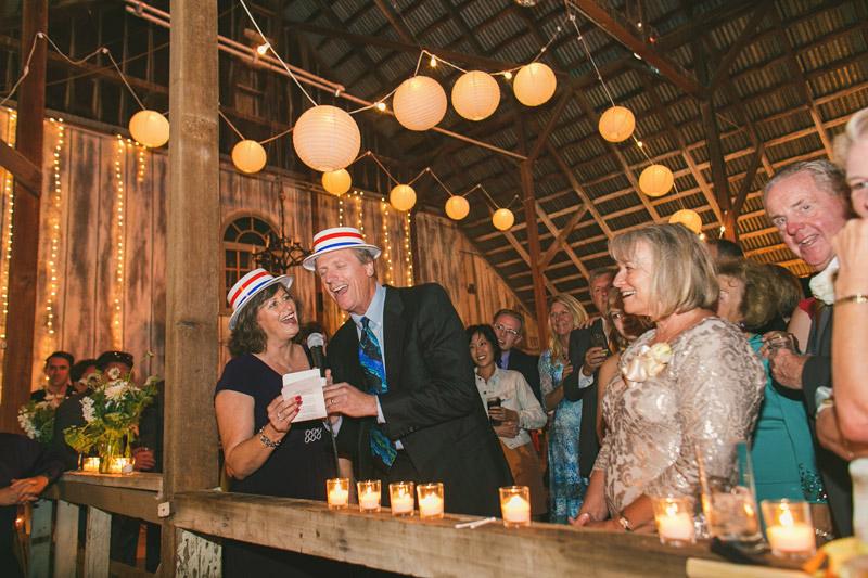 Cayucos Creek Barn, singing