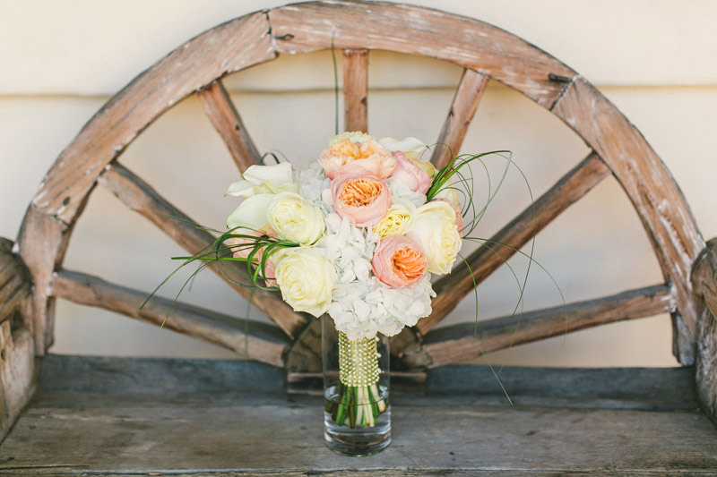 Morro Bay, brides bouquet