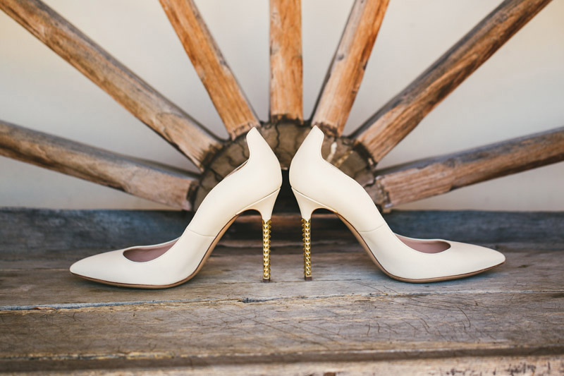 Morro Bay, wedding shoes