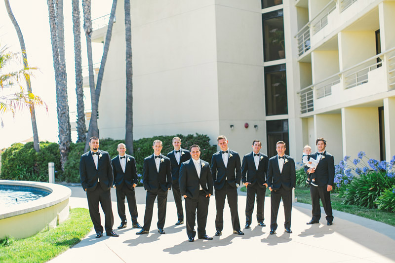 Shell Beach, Groomsmen (1 of 2)