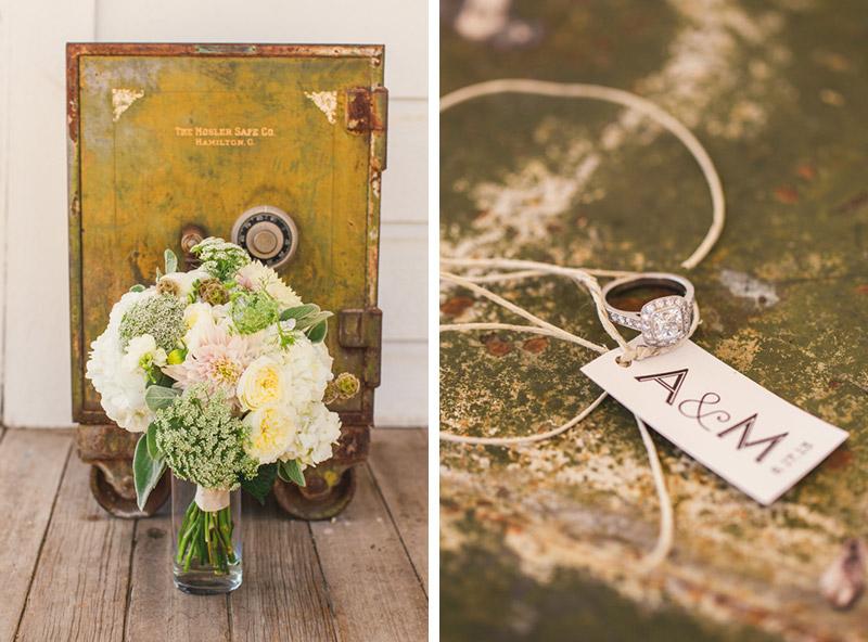 Santa Margarita Ranch, bouquet and ring