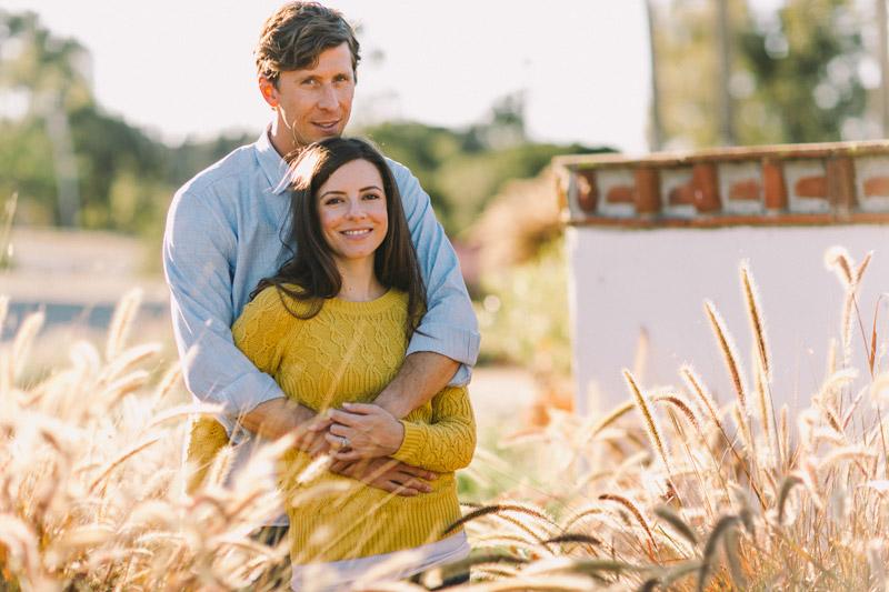 La Familia Ranch, San Luis Obispo, couple hugging