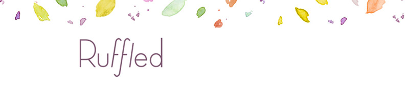 Ruffled Blog Banner