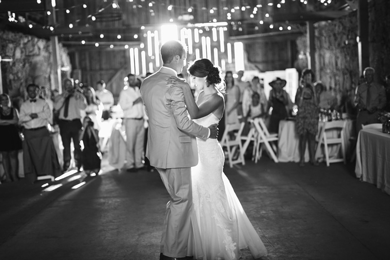 Santa Margarita Ranch Bride and Groom first dance (2 of 2)
