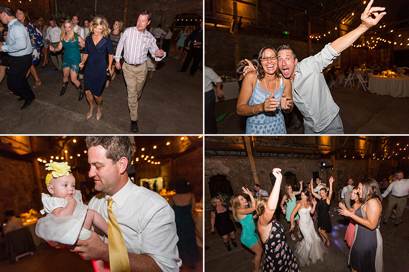 Santa Margarita Ranch guests dancing
