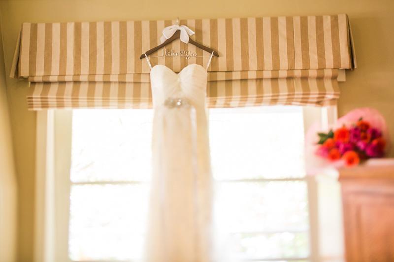 Bernardus Winery Wedding Blush Bridal wedding gown