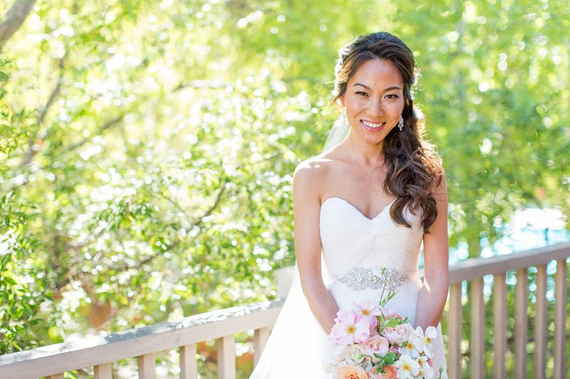 Bernardus Winery Wedding Bride (1 of 3)