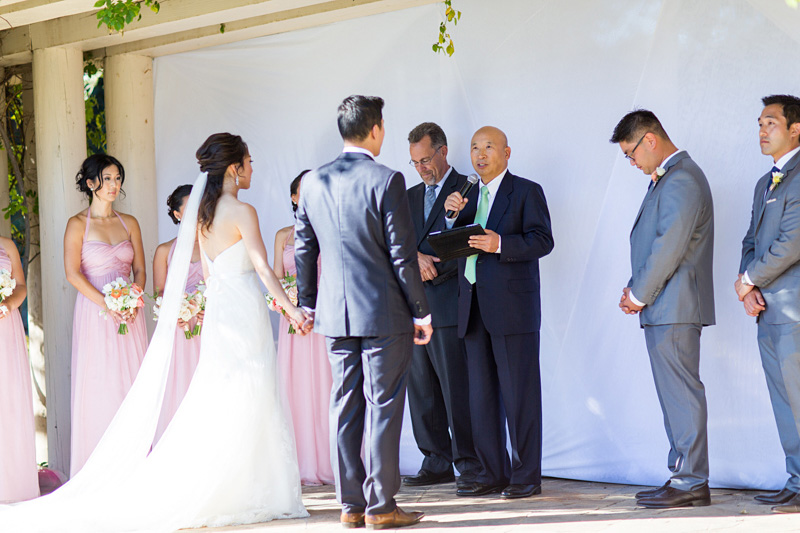 Bernardus Winery Wedding Ceremony (2 of 3)