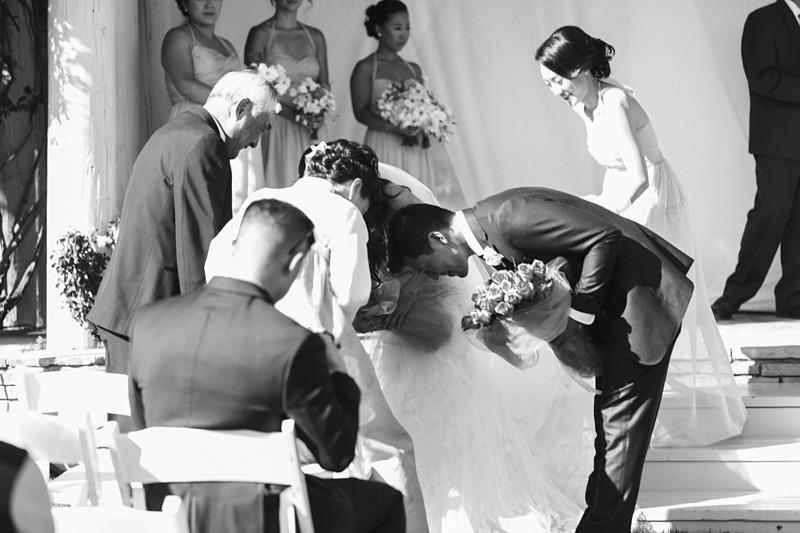 Bernardus Winery Wedding Ceremony traditions (1 of 3)