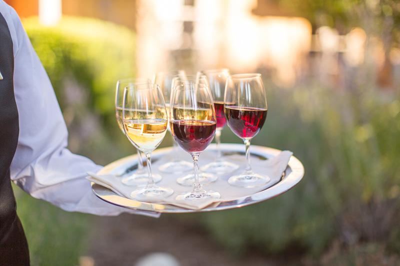 Bernardus Winery Wedding wine