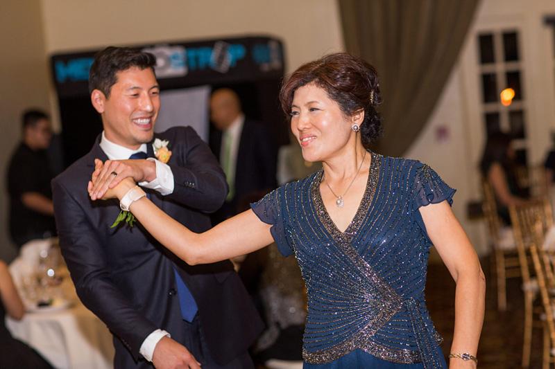 Bernardus Winery Wedding Groom's dance with his Mother