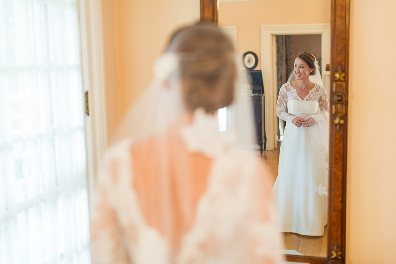 The Stow House Wedding Bride getting ready (1 of 2)
