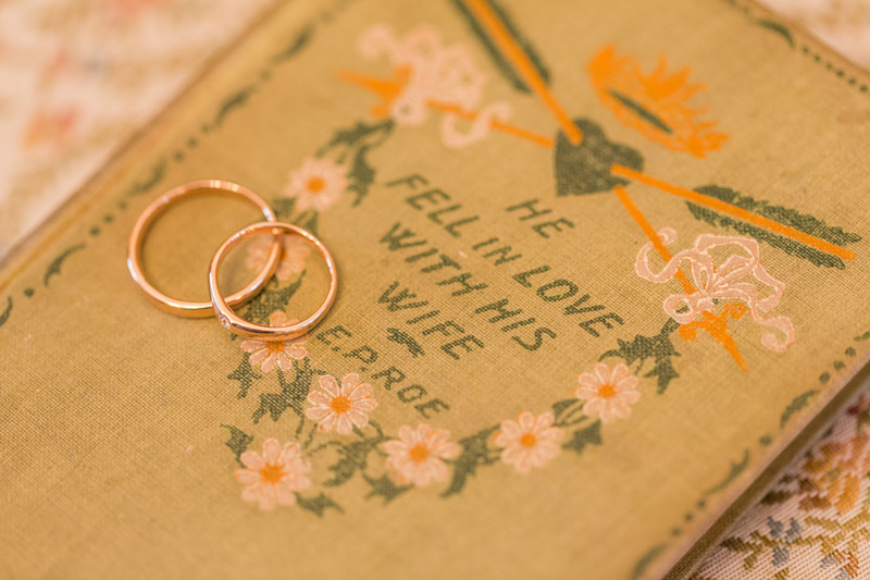 The Stow House Wedding rings