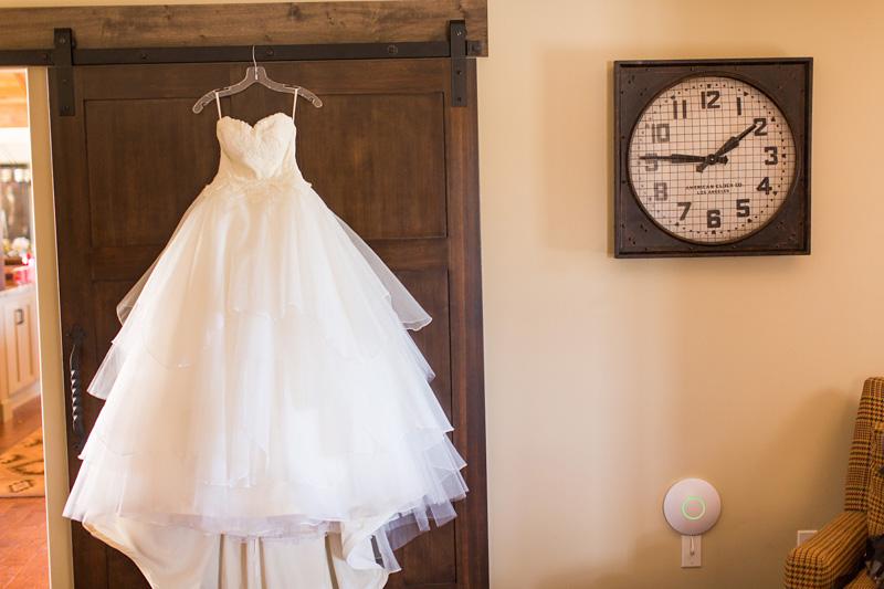 Greengate Ranch Wedding dress from Nordstroms