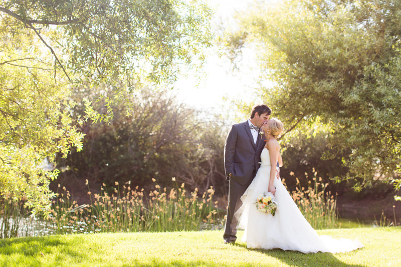 Greengate Ranch Wedding Bride and Groom in the grass field (6 of 6)