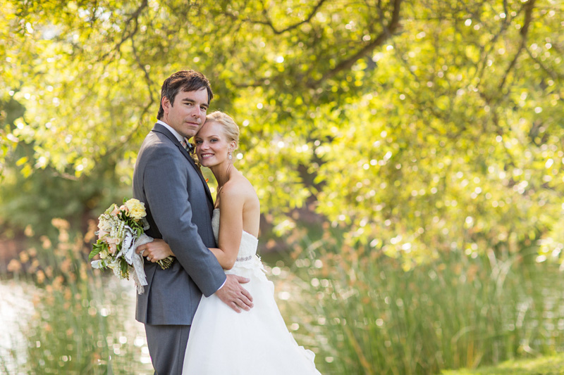 Greengate Ranch Wedding Bride and Groom in the grass field (3 of 6)