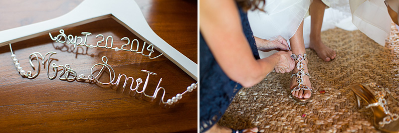 Greengate Ranch Wedding Bride's accessories